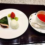 ZK - デザートは桜餅とアイス