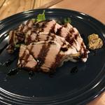 オットー チェルボ - 八鹿豚の茹で塩豚のバルサミコソース