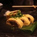 美食 米門 - 和牛時雨煮出し巻き(1000円)