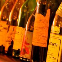 オザミが誇るワインの豊富さ
