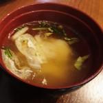 Oリーブ - 味噌汁