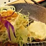 松乃家 - 野菜も旨い