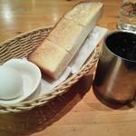 コメダ珈琲店 - アイスコーヒーのモーニング