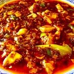 64977426 - 麻婆豆腐アップ(食前)。