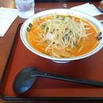 山田うどん食堂 - ピリ辛みそラーメン(税込520円)