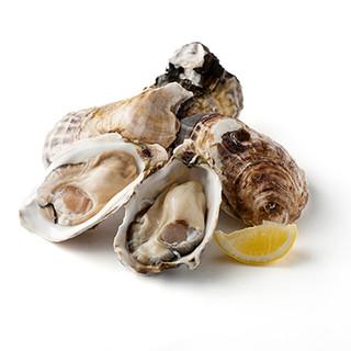 一年牡蠣の蒸し焼き