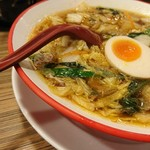 彩華ラーメン - 煮卵トッピング小(^_-)-☆