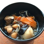 ニャーヴェトナム - 福島の郷土料理、こづゆ。ベトナム料理店でこのレベルが楽しめるのは、非常に嬉しいです(*´-`*)