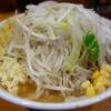 ラーメン二郎 - 料理写真:野菜側から