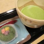 ういろう - 和菓子と抹茶