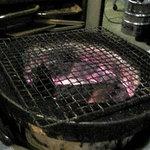 焼肉 大番 - 七輪の炭火