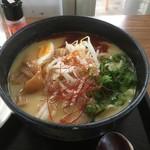 たなか家 - 京都拉饂麺大盛り750円