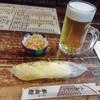 半兵衛 - 料理写真:生ビール(500円)とお通し