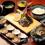 魚見亭 - 地の物にこだわった新鮮な料理