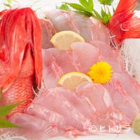 魚河岸 丸天 - 丸ごと1匹贅沢に使用した『金目鯛の刺身』