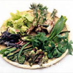 奈良田本店 - 春の味覚山採り山菜の料理