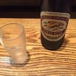 萬珍軒 - 瓶ビール(650円)