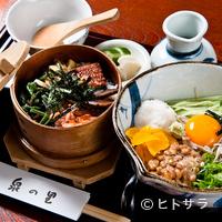 泉の里 - 納豆そば(わっぱ付)