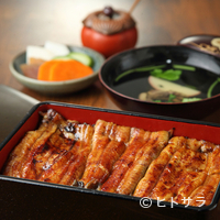のんき亭 - 新鮮な静岡県産のウナギを、オリジナルのタレで焼いた『鰻重』