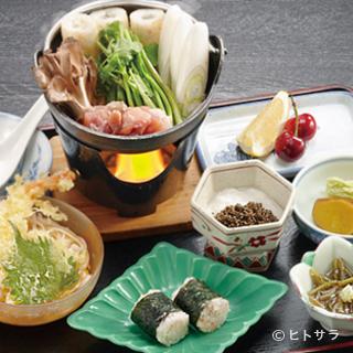 秋田の料理を堪能できます