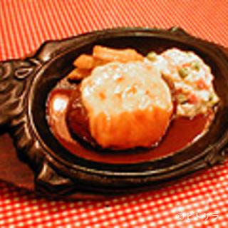 レストランあづま - 甘辛く香ばしいチーズハンバーグ