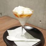 アプサラ レストラン&バー - キトゥル・ハニー(450円・外税) ヨーグルトのおデザ。