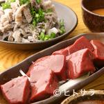 亀戸ホルモン - 新鮮でなければ味わえない刺身