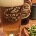 みやこや - 瓶ビール570円