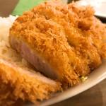 洋食・ワイン フリッツ - ロースカツカレーセット1,500円