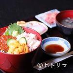 ふみ野 - 三色丼