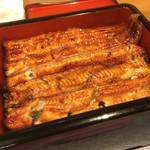 65098575 - 新仔鰻重(和匠鰻)、焼き目が実に美味しそうです。