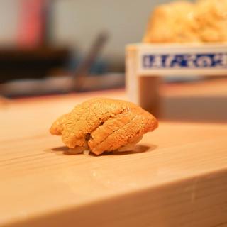 鮨 尚充 - 料理写真:はだてのむらさきうに