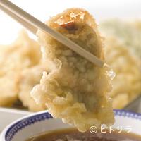 天ぷらひらお - すりおろし大根が入った天ぷらにつけて食べれば最高!!