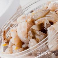 天ぷらひらお - イカの塩辛は美味
