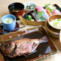 武田丸 - 漁師定食
