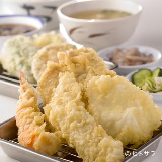 天ぷらがリーズナブルに楽しめる