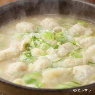 博多の新名物『炊き餃子』