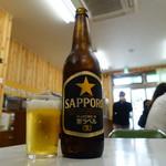 七福 - ビールは黒ラベル