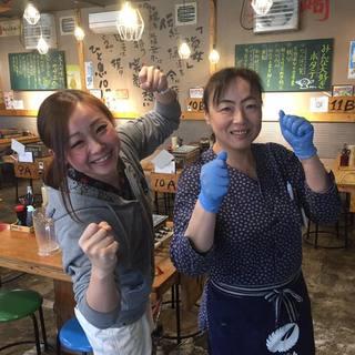 ★毎日、40種~の魚貝が食べ放題!!