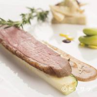 金蔦 - 『ビュルゴー家シャラン鴨のロティ』(金蔦特選コースの肉料理の一例)