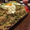居酒屋田 - 料理写真:クワバタオハラさん考案の「びっくり蕎麦めし」