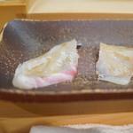 Sushi Sho - アイナメ 真鯛