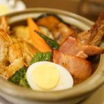 札幌スープカレー傾奇 - 傾奇者カレー(ほぼ全部