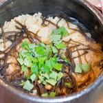 白金台こばやし - 今日は塩昆布と梅のご飯です!