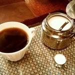 シャルラン - シャルラン@長岡 モーニングのコーヒー