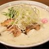 山なか製麺所 - 料理写真:鶏白湯らーめん750円