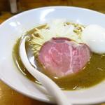 イチカワ - 煮干しそば(塩)