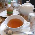 空気ケーキ。 - 有機奈良紅茶