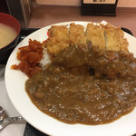 ランチハウス ミトヤ - チキンカツカレー750円 ごはん大盛り(無料)