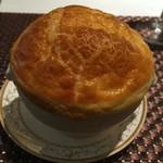都 - コーンスープのパイ包み